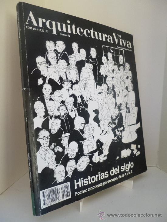 arquitectura viva n 70 historias de siglo comicarquitectura por focho - Arquitecturaviva