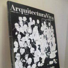 Cómics: ARQUITECTURA VIVA Nº 70. HISTORIAS DE SIGLO. COMIC+ARQUITECTURA, POR FOCHO. Lote 39177249
