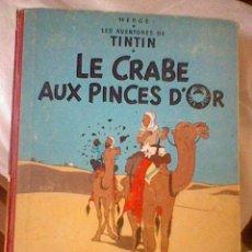 Cómics: LES AVENTURES TINTIN LE CRABE AUX PINCES D´OR CASTERMAN EN FRANCES *C16. Lote 171368639