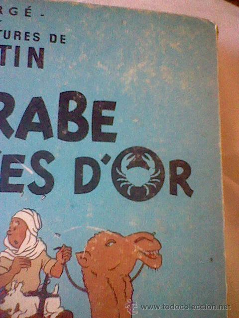 Cómics: LES aventures TINTIN Le Crabe Aux Pinces D´or Casterman EN FRANCES *C16 - Foto 5 - 171368639