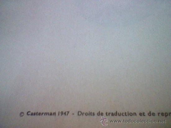 Cómics: LES aventures TINTIN Le Crabe Aux Pinces D´or Casterman EN FRANCES *C16 - Foto 9 - 171368639