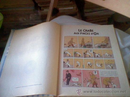 Cómics: LES aventures TINTIN Le Crabe Aux Pinces D´or Casterman EN FRANCES *C16 - Foto 10 - 171368639