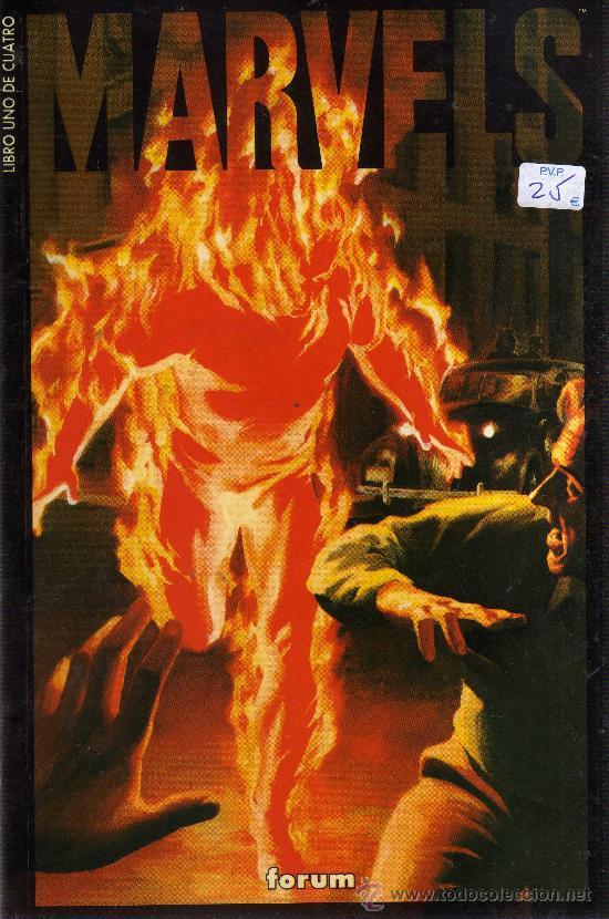MARVELS (FORUM, COLECCIÓN COMPLETA 4 EJEMPLARES) (Tebeos y Comics - Comics Pequeños Lotes de Conjunto)
