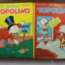 Cómics: 3881- TOPOLINO. VV.AA. EDIT. WALT DISNEY. COLECCION DE 8 NUMEROS. AÑOS 60/70. . Lote 39365743