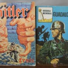 Cómics: 3883- COLECCION DE 5 COMICS BELICOS. EDIT. VILAMAR Y MERCOCOMIC. 1979. . Lote 39366144