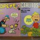 Cómics: 3884- POPEYE Y CARLITOS Y LOS CEBOLLITAS. EDIT. BURU LAN. 1971/1972. . Lote 39366355