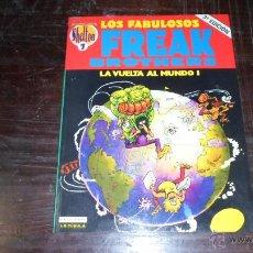 Cómics: LOS FABULOSOS FREAK BROTHERS, LA VUELTA AL MUNDO I. OBRAS COMPL. SHELTON Nº 11, ED. CUPULA. Lote 39378752