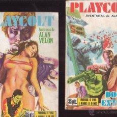 Cómics - PLAYCOLT, LOTE DE 2 EJEMPLARES ( COMIC EROTICO DE LOS 70 ) - 32882755