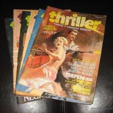 Cómics: THRILLER - COMICS Y CUENTOS NEGROS - COMPLETA - 6 EJEMPLARES - TOUTAIN EDITOR. Lote 41498754