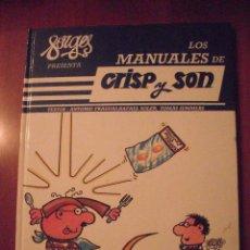 Cómics: LOS MANUALES DE CRISP Y SON, FORGES, NUMERO 7, . Lote 39466401