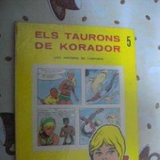 Cómics: ELS TAUROS DE KORADOR DE LA XARXA Nº 5. Lote 39580256