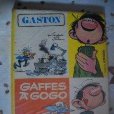 Cómics: GASTON GAFFES A GOGO DE COMICS ARGOS MBE. Lote 39593829