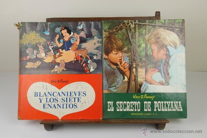 3926- LOTE DE 6 CUENTOS INFANTILES DE WALT DISNEY. EDIT. GAISA. 1968/1969. (Tebeos y Comics Pendientes de Clasificar)