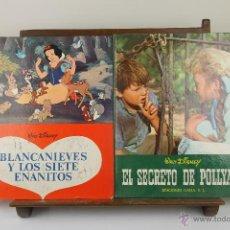 Cómics: 3926- LOTE DE 6 CUENTOS INFANTILES DE WALT DISNEY. EDIT. GAISA. 1968/1969. . Lote 39610245