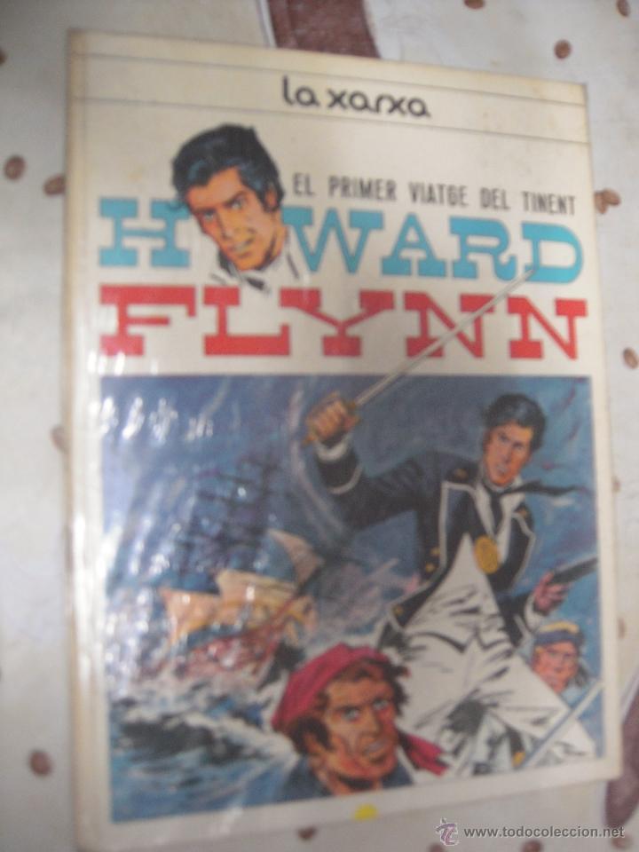 HOWARD FLYNN EL PRIMER VIATGE DEL TINENT LA XARXA EN CATALAN (Tebeos y Comics - Comics otras Editoriales Actuales)