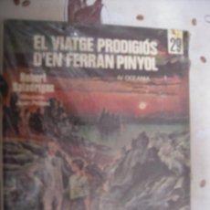 Cómics: EL VIATGE PRODIGIOS D´EN FERRAN PINYOL L´OCELL DE PAPER 29 EN CATALAN. Lote 39629668