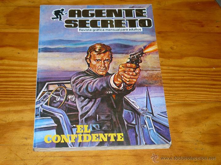 TEBEOS-COMICS GOYO - AGENTE SECRETO - TOMO EXTRA - MAS DE 190 PAGS. *BB99 (Tebeos y Comics - Comics otras Editoriales Actuales)