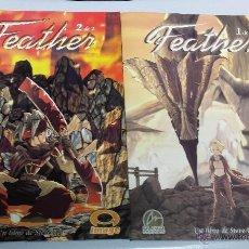 Cómics: FEATHER ¡ COMPLETA 2 NUMEROS ! IMAGE / ALETA EDICIONES. Lote 39706412