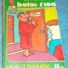 Cómics: EL HUMOR DE BOLSI - RISA TOMO N.º 13 CHISTES Y VIÑETAS EROTICAS 1.976 PASTA SEMIRIGIDA 128 PAG. Lote 39726450