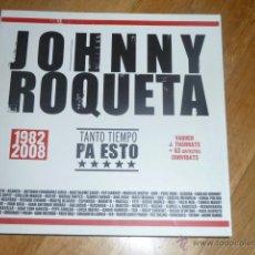 Cómics: JOHNNY ROQUETA (1982-2008) TANTO TIEMPO PA ESTO (R. VAQUER I THARRATS + 63 ARTISTES) EXP SES VOLTES. Lote 39820888
