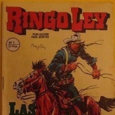 Cómics: RINGO LEY LAS OREJAS DE BILL NO.3 1978 . Lote 39877503