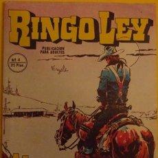 Cómics: RINGO LEY AL BORDE DEL INFIERNO NO.4 1978. Lote 39877727