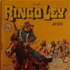 Cómics: RINGO LEY FIEL AMIGO NO.6 1978. Lote 39878316