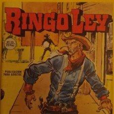 Cómics: RINGO LEY - BALAS PARA EL DOCTOR NO.15 AÑO 1978. Lote 39878694