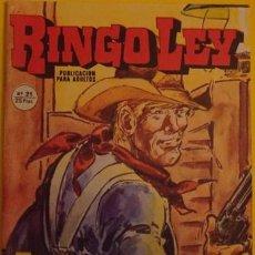 Cómics: RINGO LEY - EL FANTASMA DE LA CIUDAD MUERTA NO.21 AÑO 1979. Lote 39878798