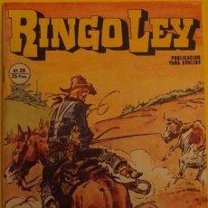 Cómics: RINGO LEY - BUITRES SIN ALAS NO.28 AÑO 1979. Lote 39879073