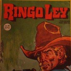 Cómics: RINGO LEY - MORIRAS CANTANDO NO.29 AÑO 1979. Lote 39879169