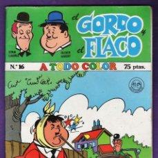 Cómics: COMIC EL GORDO Y EL FLACO - Nº 16 - STAN LAUREL / OLIVER HARDY - RD3 . Lote 39879750