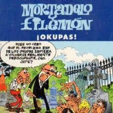 Cómics: MORTADELO Y FILEMON. OKUPAS. COMIC-023. Lote 144545437