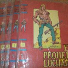 Cómics: PEQUEÑO LUCHADOR, 9 TAPAS COMPLETAS PARA ENCUADERNAR - SIN ABRIR. Lote 39976429