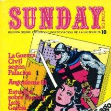Cómics: SUNDAY 10 (HOMENAJE A MANUEL GAGO Y A EL GUERRERO DEL ANTIFAZ). Lote 40037674