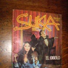 Cómics: SUKIA, - EL GIGOLO- Nº 40 - COMIC ADULTOS -EDICIONES ZINCO, S. A./EDICOMIC, BARCELONA, V-1983 - 1991. Lote 40078498