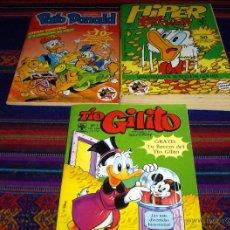 Cómics: GRAN LOTE 8 PUBLICACIONES DE WALT DISNEY Y CON CUATRO NºS 1. LÁMINA 34X25 CMS DE REGALO.. Lote 13351592