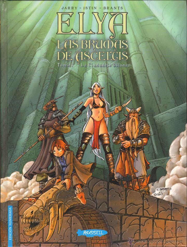 ELYA - LAS BRUMAS DE ASCELTIS / TOMO 1 (Tebeos y Comics Pendientes de Clasificar)