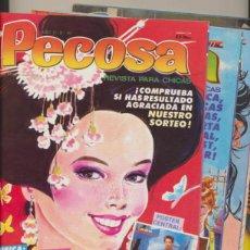 Cómics: PECOSA. LOTE DE 9 EJEMPLARES.. Lote 40150366