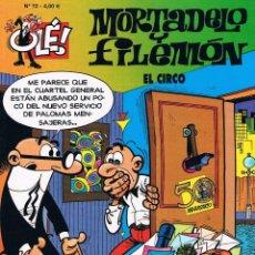 Cómics: MORTADELO Y FILEMON COLECCION OLE 72 EL CIRCO. Lote 40150606