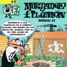 Cómics: MORTADELO Y FILEMON COLECCION OLE MUNDIAL 82. Lote 40150717