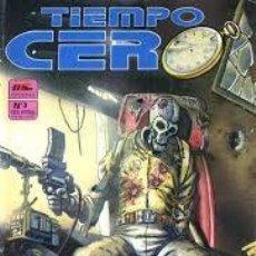 Cómics: TIEMPO CERO Nº 1; 2; 3 Y 4 . Lote 142387517