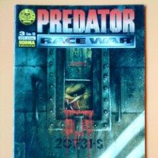 Cómics: PREDATOR. RACE WAR. COMIC BOOKS, Nº 3 (DE 5) - ANDREW VACHSS. RANDY STRADLEY. LAUCHLAND PELLE. RICK . Lote 34892032