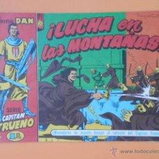 Cómics: EL CAPITÁN TRUENO. ¡LUCHA EN LAS MONTAÑAS! COLECCIÓN DAN, 28 - VÍCTOR MORA. Lote 40311653