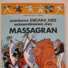 Cómics: MASSAGRAN - Nº 2 - AVENTURES ENCARA MÉS EXTRAORDINÀRIES - R. FOLCH I CAMARASA - MADORELL -EN CATALÁN. Lote 40627779