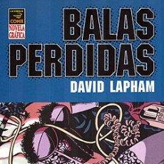Cómics: BALAS PERDIDAS : OTRA GENTE VOL. 3 DE DAVID LAPHAM EDITORIAL LA CÚPULA NOVELA GRÁFICA. Lote 180223871
