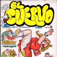 Cómics: TEBEOS-COMICS GOYO - EL CUERVO 2 - 1980 - ED. AMAIKA - RARO *AA99. Lote 40676780