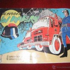 Cómics: CANO+GIMENEZ.EL FUEGO Y LOS BOMBEROS.DIPUTACIÓN DE VALENCIA.. Lote 40710456