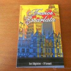 Cómics: COMIC: TRAZOS ESCARLATA (DEVIR EDICIONES). Lote 177618307