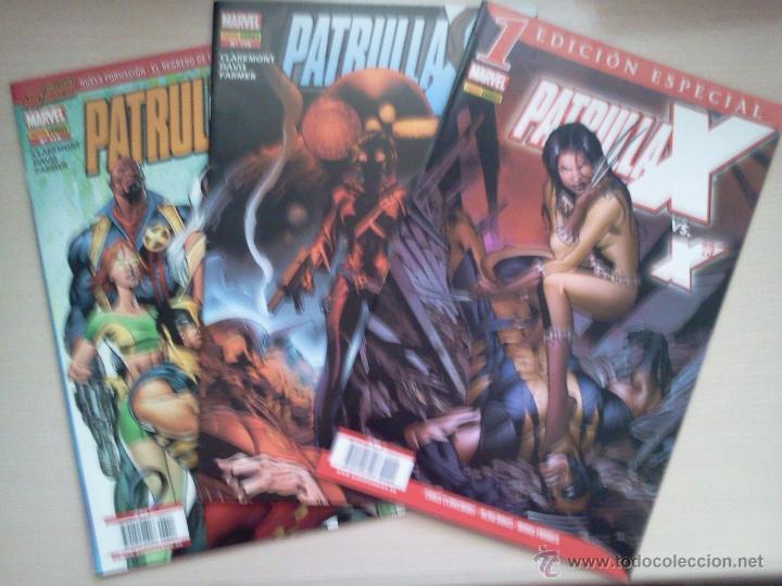 LOTE PATRULLA X (Tebeos y Comics - Comics Pequeños Lotes de Conjunto)